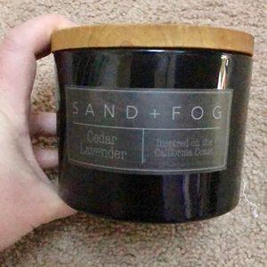 NWT cedar and lavender designer candle